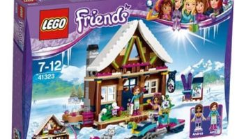 Lego Friends: Estación de Esquí Cabaña Invernal