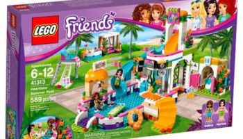 Lego Friends: Piscina De Verano De Heartlake