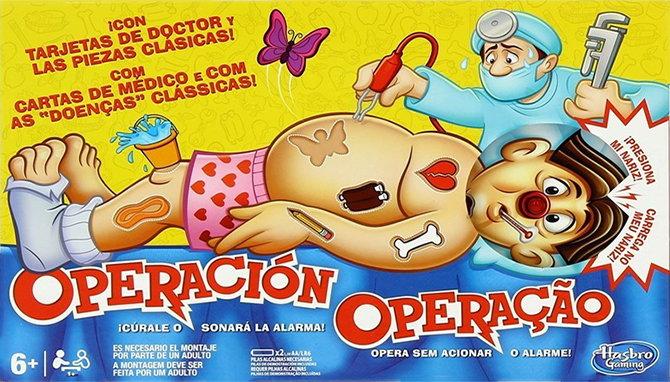 Juego de Mesa Operación