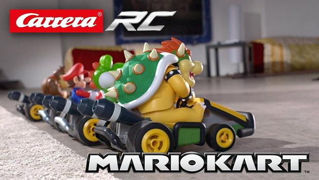 Coches radiocontrol de Mario Kart