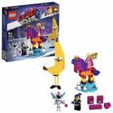 LEGO La LEGO Película 2 – Se presenta la Reina Soyloque Quiera con un juguete creativo de construcción con las aventuras de Watevra Wa'Nabi (70824) [OFERTAS]