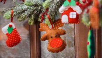 🌟 Broches de Fieltro para Navidad